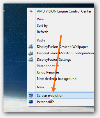 Extending Screen Over 2 Or 3 Monitors Using Amd S Vision Engine Control Center Multi Monitor